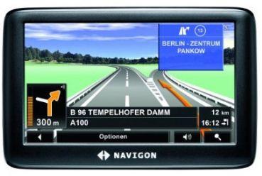 NAVIGON 3310 MAX EUROPA mit 10,9 cm Display, TMC für 79,99€ inkl. Versand