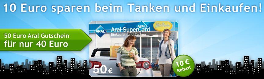 50€ Aralgutschein für nur 40€ bei Quicker.com!