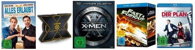Einige TOP Blu ray Schnäppchen! (Fast and the Furious 1 5 nur 31,97€)