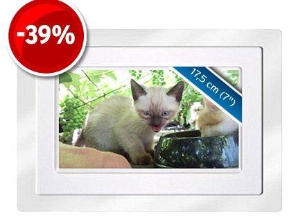 Digitaler 7″ Bilderrahmen nur 19,99€ (zzgl. Versand) Preisverglech 33€