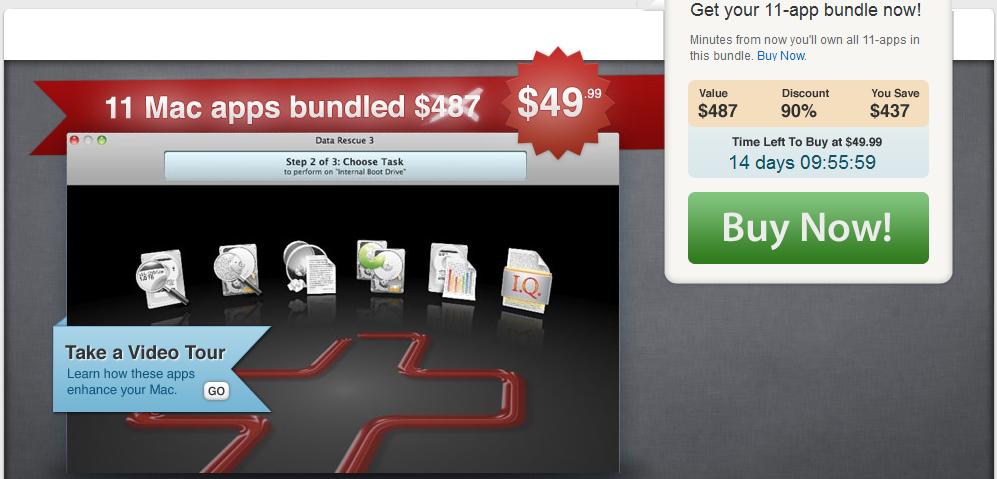 Mac Update Promo Fall Bundle für nur 36€ mit richtig guten Tools (statt 346€)