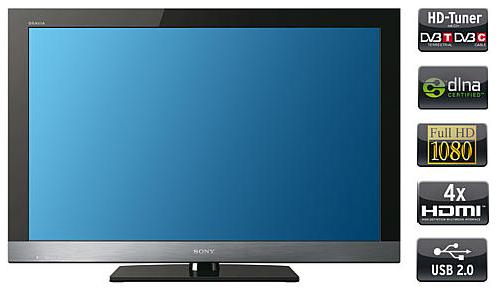 KARSTADT! 46er Full HD TV: Sony KDL 46 EX 500 inkl. Versand 594,99€ (Preisvergleich 717€)