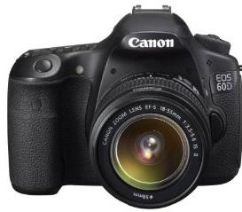 [BEEILUNG!] Canon EOS 60D Digital SLR Camera plus EF S 18 55 mm f/3.5 5.6 IS II Kit nur 713€ (Preisvergleich 900€)