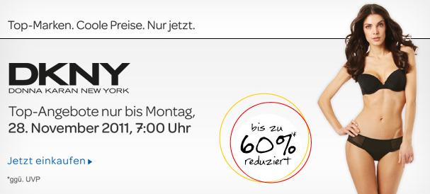 [ebay] Neuer Fashion Exclusives: bis zu 60% Rabatt bei DKNY für Unter u. Nachtwäsche