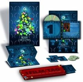 DVD Adventskalender 2011 für 61,99€   Jeden Tag ein anderer Film