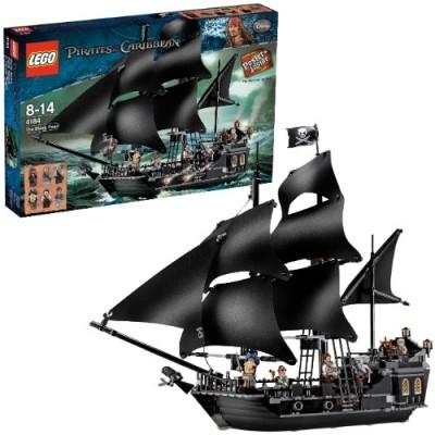 [Lego] Fluch der Karibik Black Pearl Schiff inkl. 6 Figuren für 72,94€ inkl. Versand (Preisvergleich 88€)