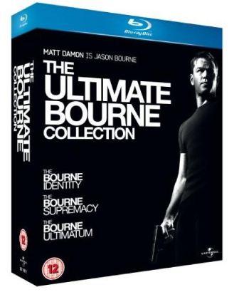 [thehut] Update: The Ultimate Bourne Collection auf Blu ray inkl. Versand für nur 14,49€