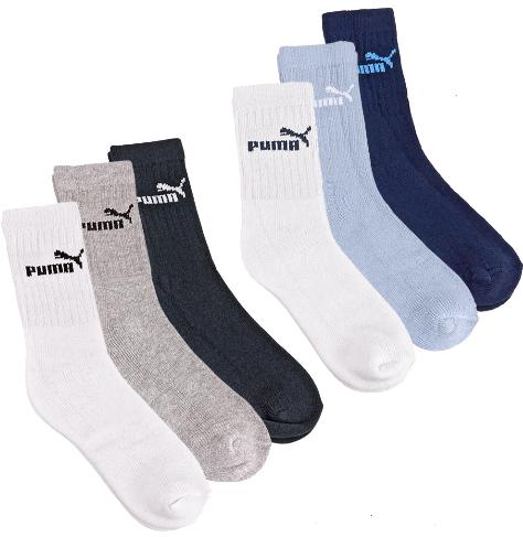 ebay! Puma: 15 Paar Kinder Sportsocken Socken von Gr. 27 bis 34, inkl. Versand 15,99€