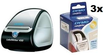 [UPDATE!] Dymo LabelWriter 450 + 6 Rollen Adress Etiketten nur 10,61€ statt 115,61€ dank Cashback