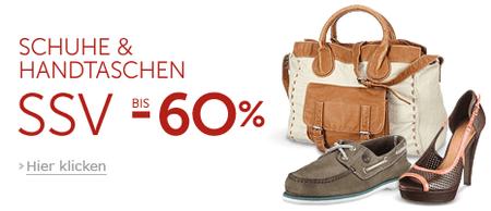Schuhe & Handtaschen bis zu 60% reduziert bei Javari