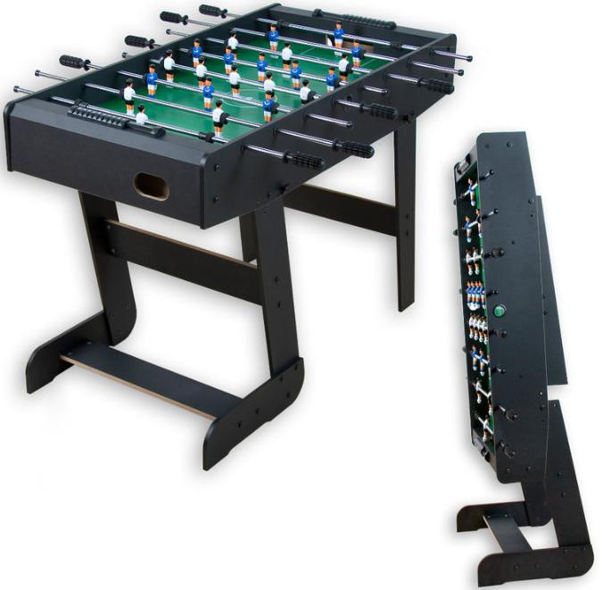 Tischfussball: Klappkicker Belfast, Spielfläche 105 x B 58 cm   inkl. Versand 59,99€