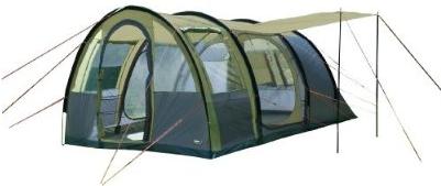 Amazon! Tunnelzelt: High Peak Zelt Amalfi 5, oliv/grau, 475 x 310 x 205 cm, inkl. Versand 135,60€