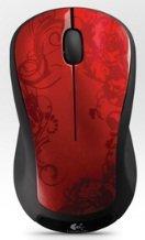Logitech M310 Wireless Mouse Red Tendrils nur 14,90€ inkl. Versand