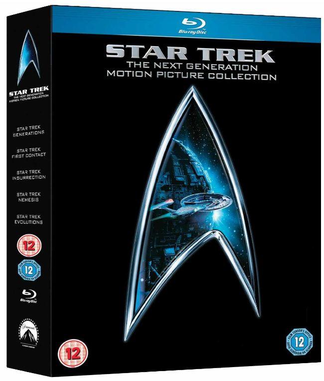 [Amazon UK] Blu ray Star Trek Collection: The Next Generations (5Disks) inkl. Versand 29,99€