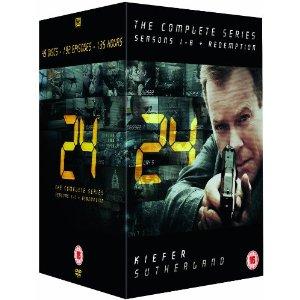 [Amazon UK] 24 auf DVD   die kompletten Staffeln 1 8 + Redemption in einer Box für nur 49,10€ inkl. Versand