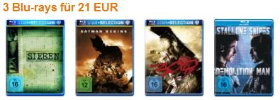 [Amazon] 3 Blu rays für nur 21€ inkl. Versand