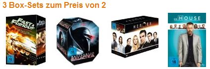 [Tipp!] Reduzierte Serienboxen (Blu ray & DVD) Band of Brothers & The Pacific, Big Bang Theory...uvm.