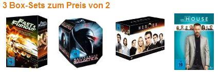 [Amazon] Update: 3 Box Sets zum Preis von 2 – Preise gesenkt!