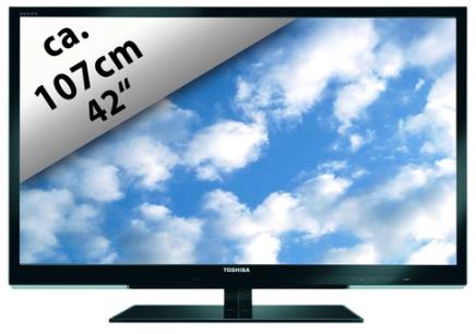 [ebay Wow] 42 LED TV: Toshiba 107cm, 100Hz Full HD, inkl. Versand 459€