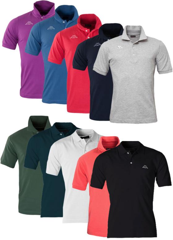 [ebay Wow] Kappa: Poloshirts in vielen Farben und Größen inkl. Versand 11,99€