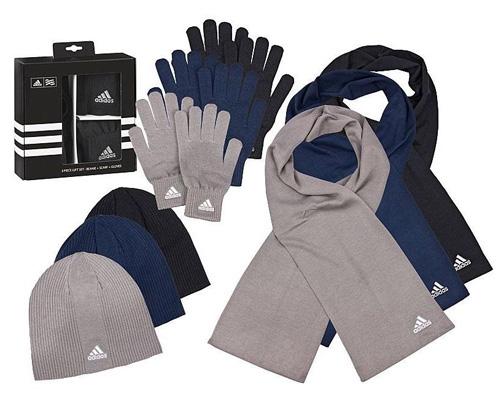 ebay adidas m tze schal und handschuhe im set f r nur. Black Bedroom Furniture Sets. Home Design Ideas