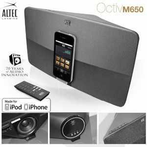 [iBOOD] Altec Lansing Octiv M650: Lautsprechersystem für iPhone & iPod inkl. Versand 105,90€