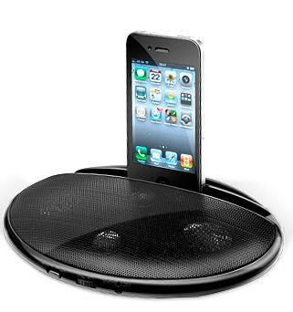 [Druckerzubehoer.de] Lautsprecher Station für Handy & MP3 Player + 3 Gratis Artikel für nur 10,94€ inkl. Versand