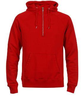 [Zavvi] Nike Mens AW77 Half Zip Hoody in rot für nur ~18,57€ inkl. Versand