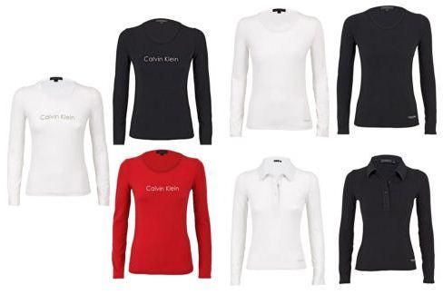 [eBay] Calvin Klein Damen Langarmshirt (S XL) in versch. Farben/Varianten je 19,99€ inkl. Versand