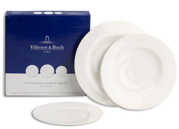 [eBay] Villeroy & Boch Wonderful World Tellerset 12tlg. für nur 59€ inkl. Versand (UVP 184€)