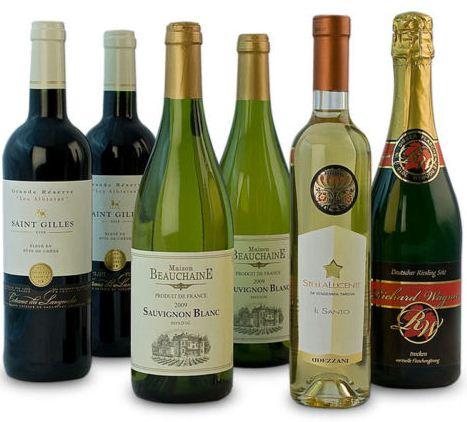 [eBay WOW] Erlesene Festtagsweine   6er Weinset für nur 22,90€ inkl. Versand