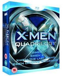 X Men Quadrilogy: X Men / X2 / X Men: The Last Stand / X Men: Origins   Wolverine (Blu ray) nur 14,99€ inkl. Versand