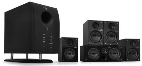 [ebay Wow] 5.1 Surround Heimkino Lautsprechersystem: Auna inkl. Versand 49,99€
