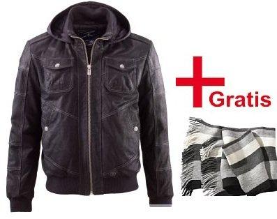 [TOP!] Tom Tailor Lederjacke + Gratis Schal für nur 55€ inkl. Versand (Preisvergleich ~80€ ohne Schal)