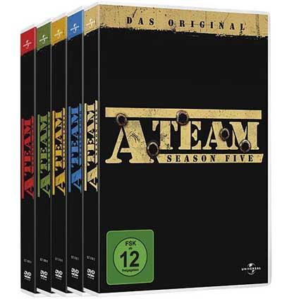 [EMP] KULT! Das A Team   Die komplette Serie in einer DVD Box für nur 41,94€ inkl. Versand