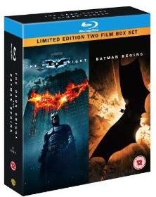 [Amazon UK] Blu ray: The Dark Knight und Batman Begins für 14,80€