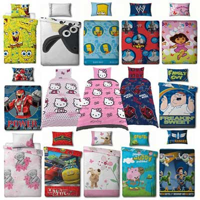 [eBay WOW   #2] Verschiedene Kinderbettwäsche (135x200)   30 Motive zur Wahl für nur je 19,99€ inkl. Versand