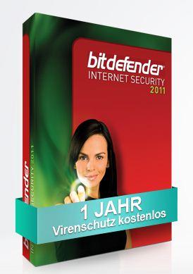 [KOSTENLOS!] 1 Jahr gratis Bitdefender Internet Security 2011