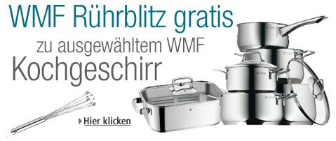 [Amazon] WMF Aktion: Beim WMF Kauf kostenlos den Rührblitz (Wert 13,85€) abstauben! !