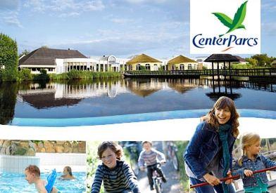 [DailyDeal] 5 Tage Kurzurlaub für 4 Personen im Center Parcs (Übernachtung + Eintritt ins Aqua Mundo) für nur 119€