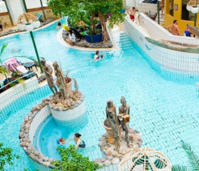 [Tipp!] 5 Tage CenterParc an der Nordseeküste (19.12 bis 23.12) Hotel inkl. Frühstück + GRATIS Eintritt zum Spaßbad nur 64€/Person