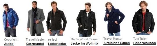 [Nur heute!] Bis zu 70% Rabatt auf Jacken & Mäntel + 15€ Gutschein (günstige Tom Tailor Jacken...uvm)