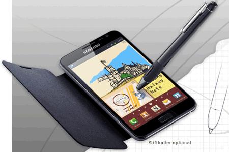 [Kostenlos!] Flip Cover für Samsung Galaxy Note N7000