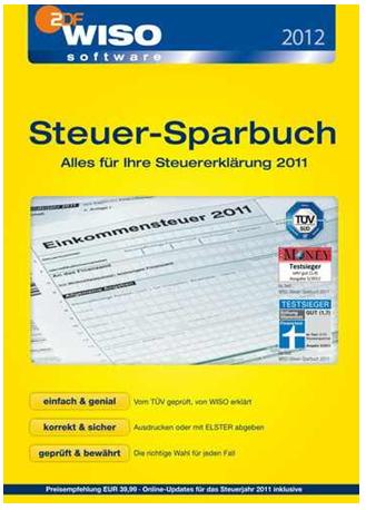 [ebay Wow] WISO: Steuer Sparbuch 2012 (Steuerjahr 2011) inkl. Versand 19,99€
