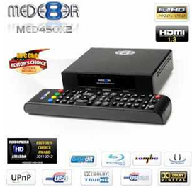 [iBOOD] Full HD Media Player: Mede8er MED450X2 inkl. Versand 105,90€