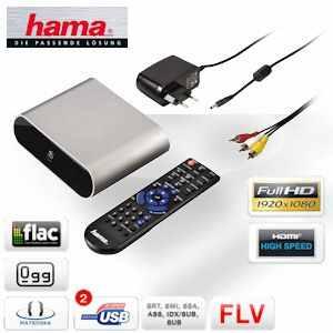 [iBOOD] Full HD Mediaplayer: Hama MP20, digitalen Medien auf dem TV, Beamer oder Bildschirm, inkl. Versand 45,90€