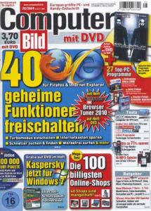 Computer Bild Jahresabo (24 Ausgaben) für 104€ + Gutschein & 65€ BestChoice