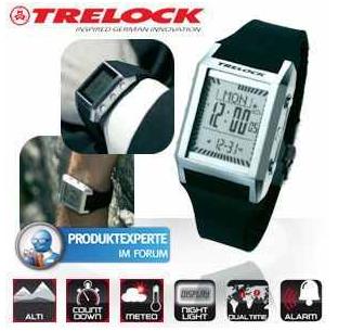 [iBOOD] Crossover Uhr: Trelock mit Geocoaching, Höhenmessung, Orientierung und Wetterprognose, inkl. Versand 35,90€