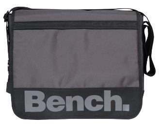 [the hut] Bench Edlyn Messenger Bag (Braun/Schwarz) für 18,25€ & Bench Eclipse Record Bag für 19,15€   je inkl. Versand
