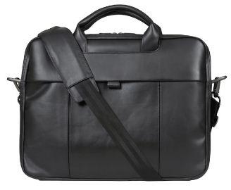 [the hut] Dell 15,6 Laptop Tasche (schwarzes Leder) für nur 22,70€ inkl. Versand
